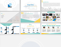 Design Media Company PowerPoint Animated Presentation