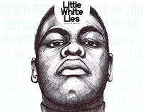Little White Lies Magazine illustration