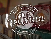 beauty script font HELLVINA