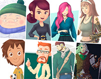 Characters: Style Guide