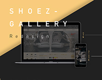 SHOEZ GALLERY - Redesign