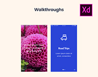 Adobe Xd - 20 Screens Walkthrough