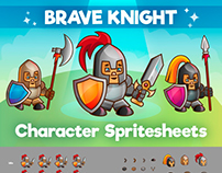 Knight Character Sprite