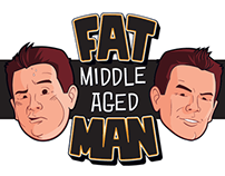 Logo for Fat Middle Aged Man