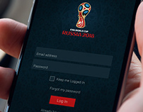 World Cup 2018 UI Design