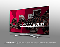ANKARA KULİSİ | POLITICAL PRG. OPENER & GRAPHIC PACKAGE