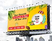 Billboard Design with free mockup