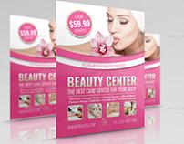 Beauty Center Flyer Template