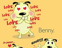 Benny, The funny Dog