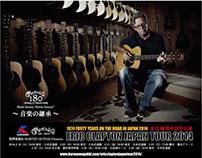ERIC CLAPTON JAPAN TOUR 2014 POP