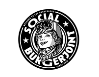 Social Burgerjoint - Bronx jr illustration