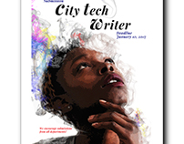 City Tech Writer- Book and poster design