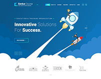 Genius Course - Learning & Online Course Template