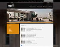 Istanbul Techincal University Website