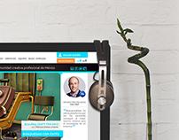 Buscacreativos website