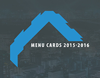 Menu Cards 2015 - 16