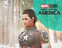 Avengers , Miss Captain America , Kristen Stewart