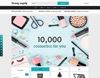 Beauty Supply - Joomla eCommerce template