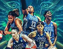 • Official WNBA social media graphics I •
