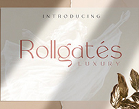 Rollgates Luxury Sans Serif