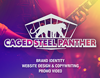 Caged Steel Panther Sea Turtle Charity Concert Identity