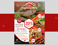 Restaurant Food Flyer Design