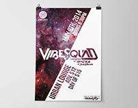 VibeSquad Concert Poster