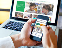 Website redesign for Derby Hospitals Charity