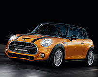 Mini Cooper web design