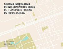 Sist. info. de int. dos meio de transp. público do RJ