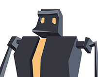 Ilustracje do gry RoboTeatr