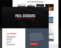 Website Design - Paul Goddard Design