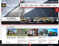 """сайт визитка """"Tex-Color Ukraine"""""""