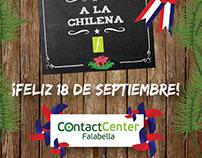 Evento Fiestas Patrias 2017 Contac Center