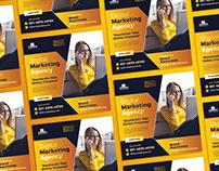 Free Social Media Digital Marketing Banner Template