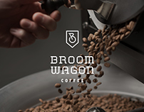 Broom Wagon Coffee Brand & Packaging