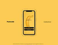 Postcodecollective App design