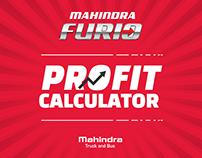 Mahindra Furio - PWA Site
