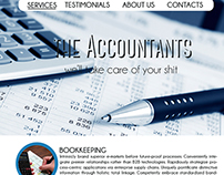 The Accountants - Portfolio (Mock up Template)