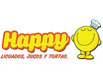 Happy Restaurant Branding