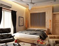 Apartment Interior Design + CG