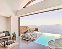Nature Eco Residences Santorini by George Zafiriou