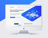 Finance industry page | Landing page
