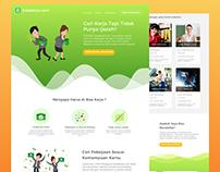 Landing Page bisakerja.com