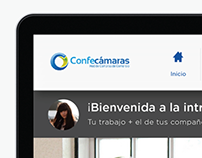 Confecámaras Intranet UX