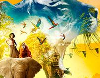 Jungle Book Film Key Art