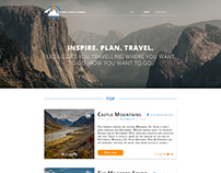 Travel website for The Only Way Is Travel