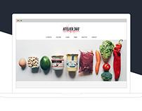 Atelier 360 - branding + responsive landing page