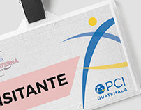 Corporate Badge Design for PCI Guatemala