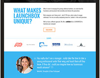 Launchbox 365 Website